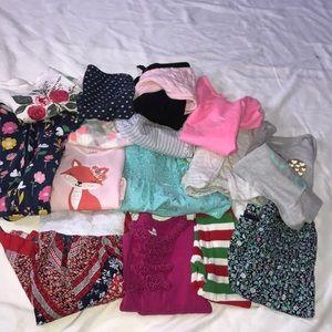 15 piece Girls bundle Size 18mo
